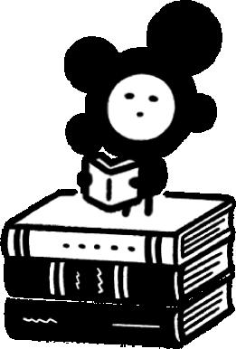 本の妖精アイコン