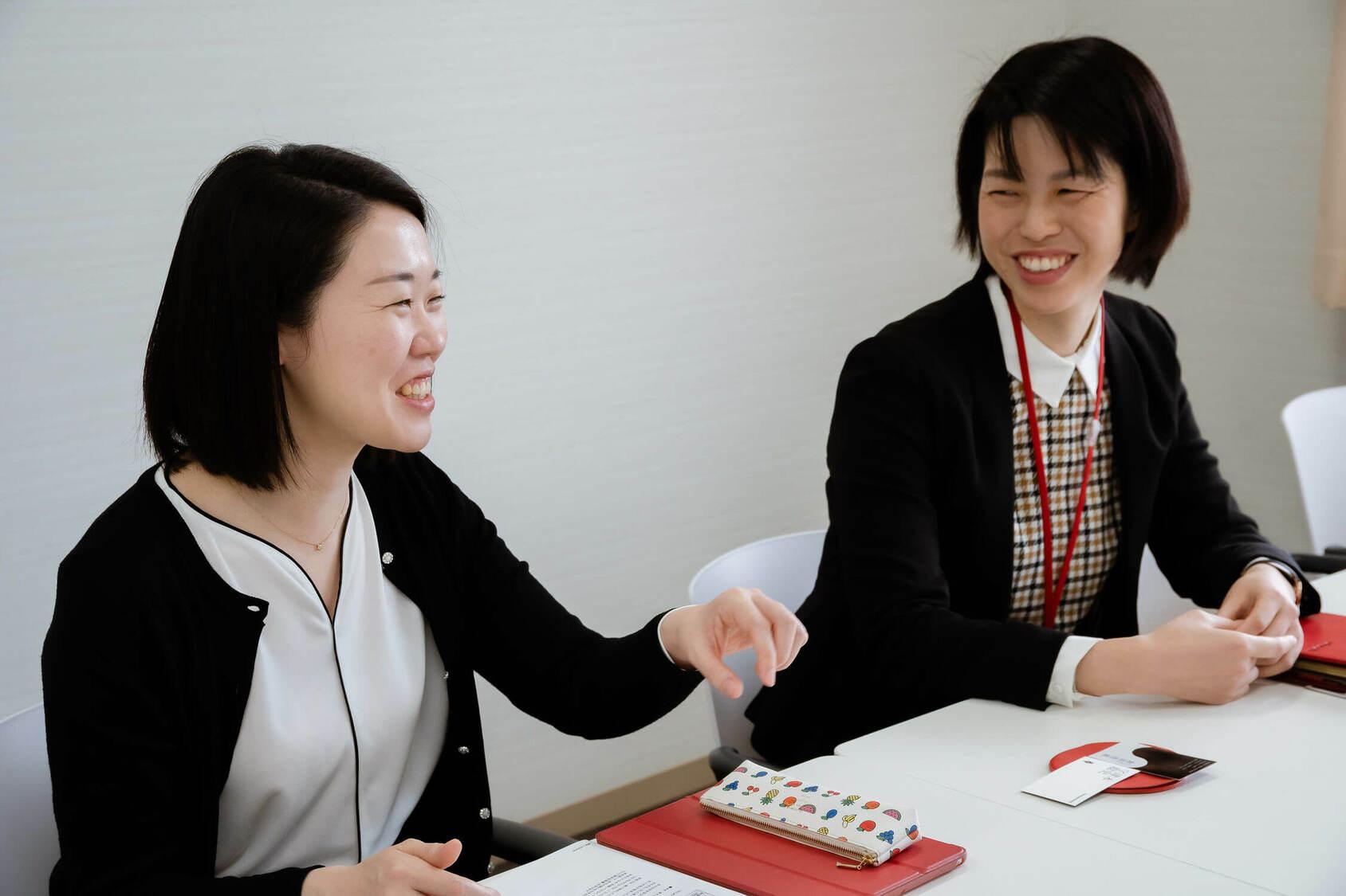 山崎学園 富士見中学高等学校 三浦佳奈先生 宗愛子先生 会話