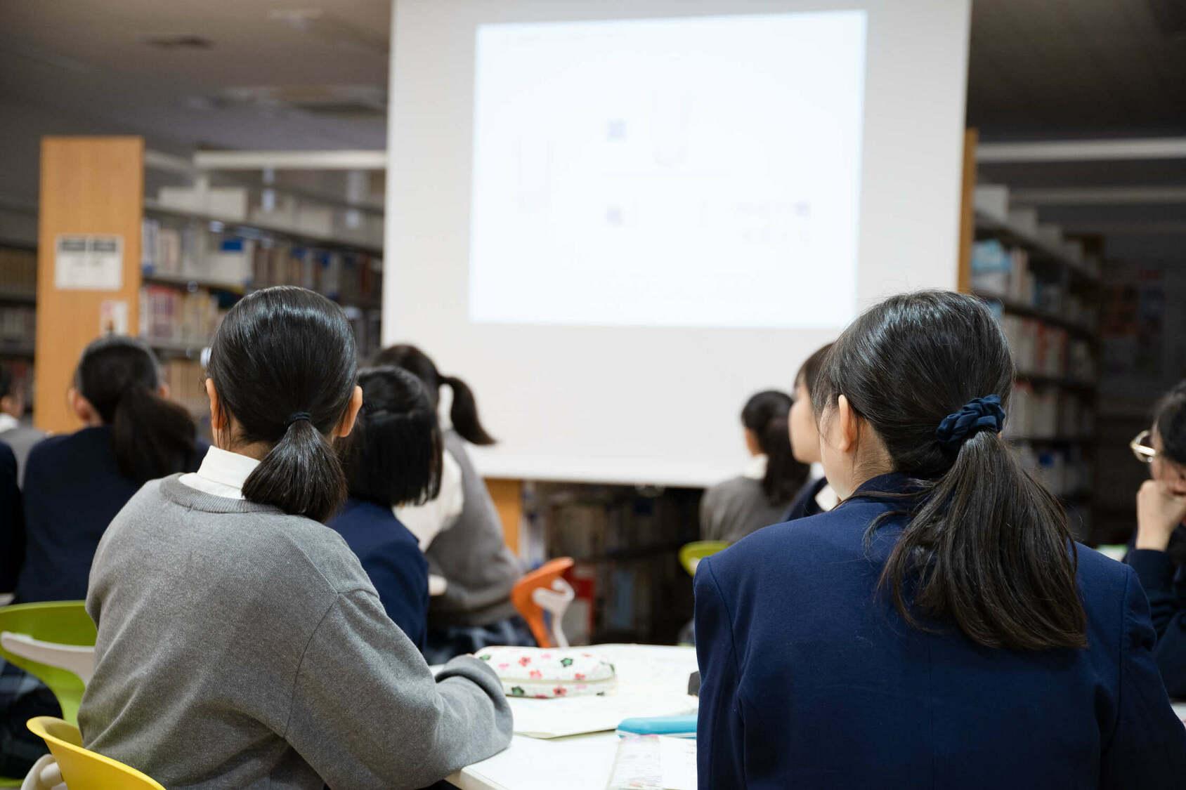 山崎学園 富士見中学高等学校 探求学習授業風景