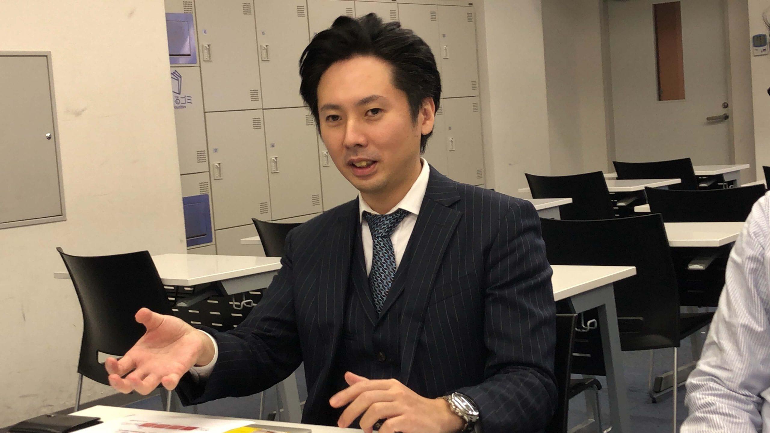 探求型読書プログラムの導入を決めたを決めた田中潤教頭