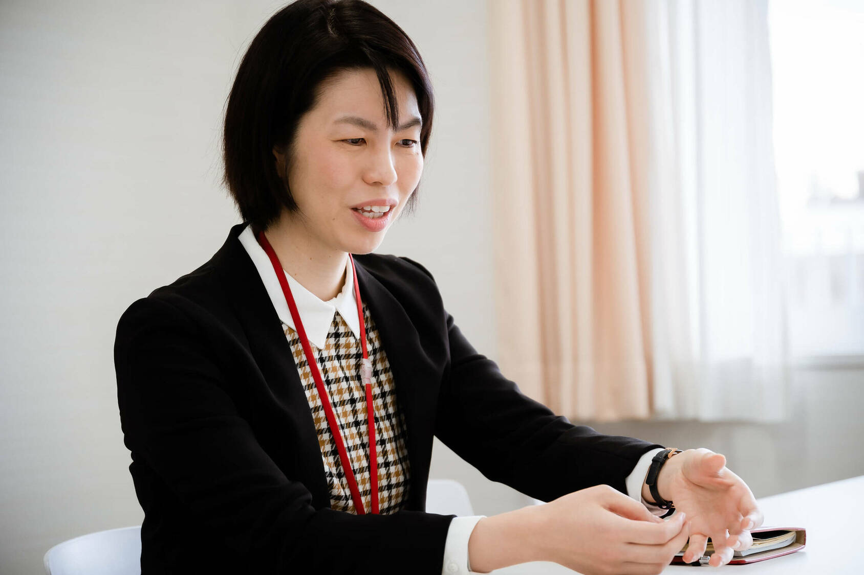 山崎学園 富士見中学高等学校 宗 愛子先生