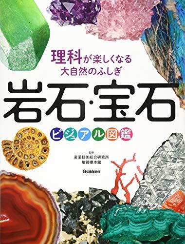 岩石・宝石ビジュアル図鑑-理科が楽しくなる大自然のふしぎ-