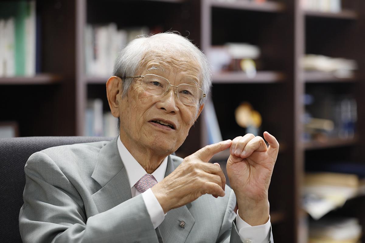 松本紘理事長