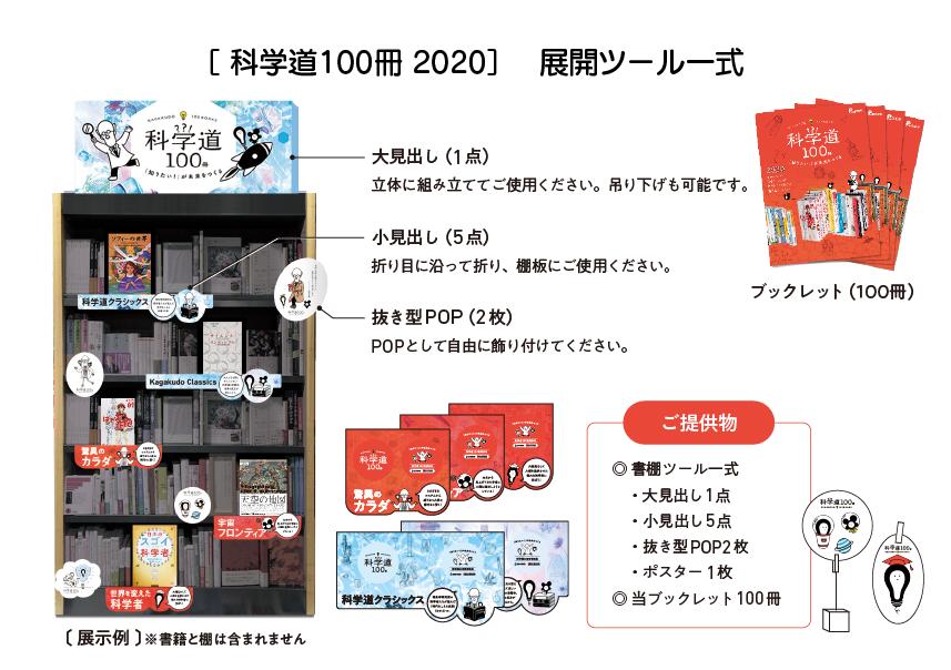 科学道100冊 2020 展開ツール一式