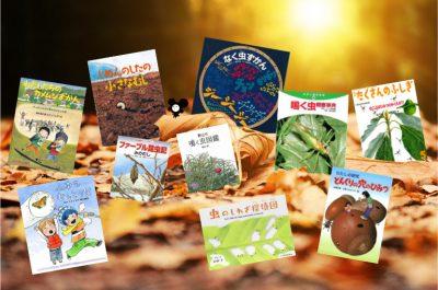 【おすすめの科学絵本⑭】「秋の虫をさがそう」の本10冊