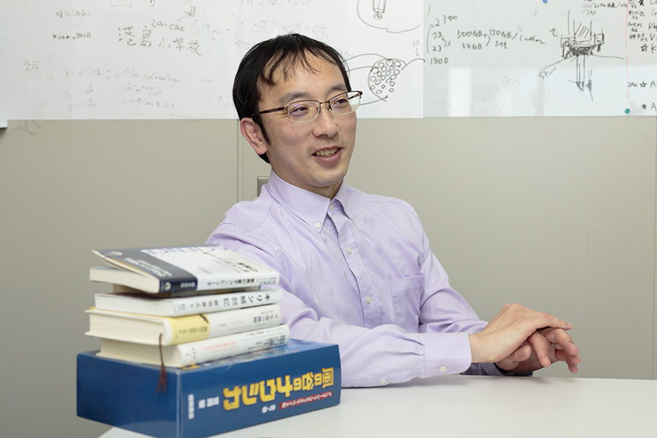 宮道和成博士と本の画像